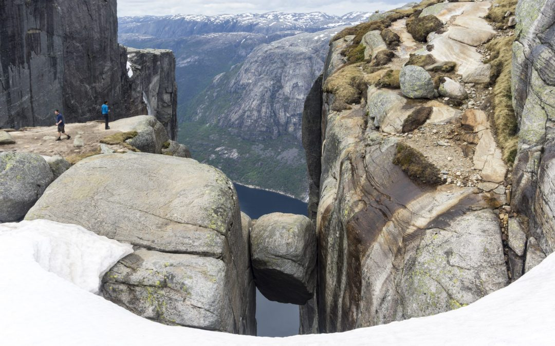 Info from Kjerag Tourist information