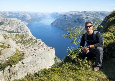 "Preikestolen Hike ""Off the Beaten Track"""