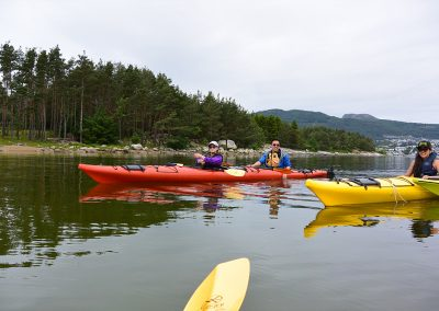 Kayak rental in Jørpeland