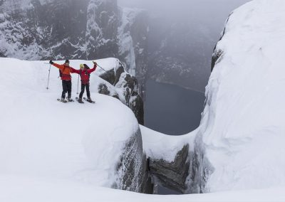 kjerag winter