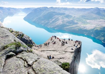 top preikestolen