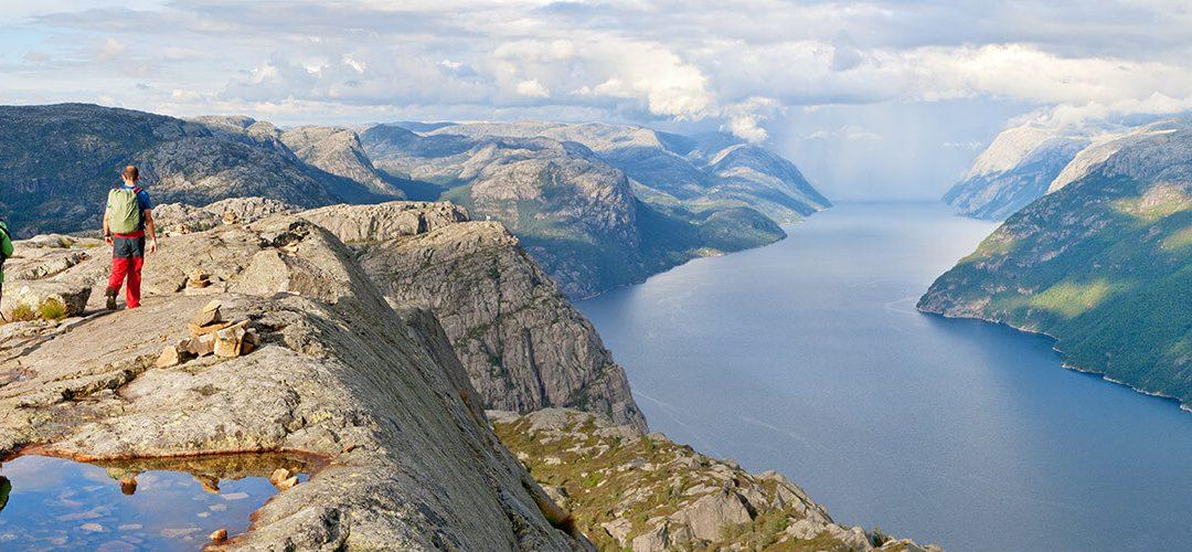 Hikes in Lysefjorden