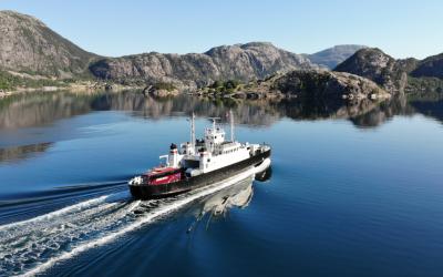 Fjord cruise on Lysefjorden 2020