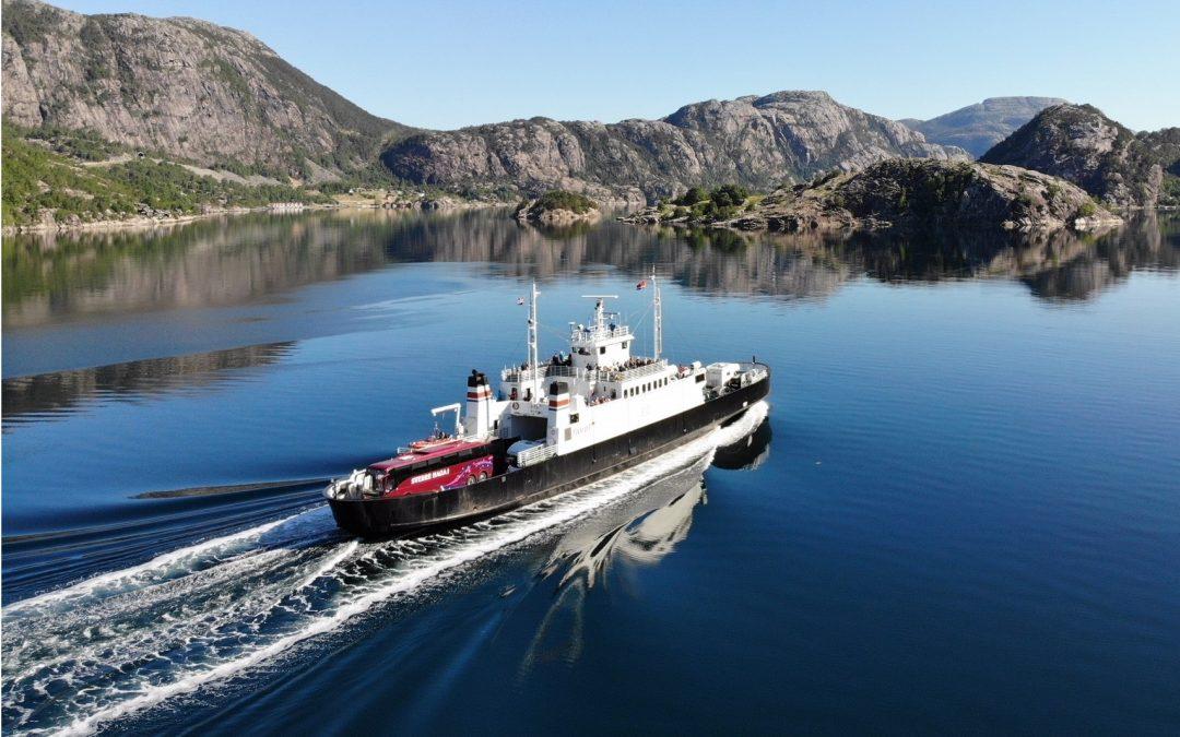 Tourist ferry starts June 01.