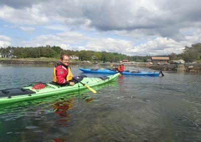 A taste of kayaking