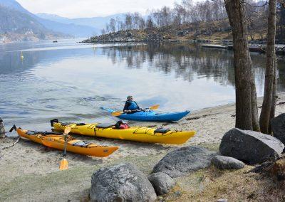 Kayak, Jørpelandsholmen