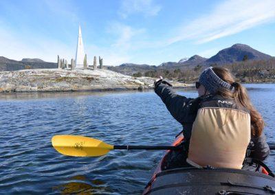 Kayak, Solspeilet