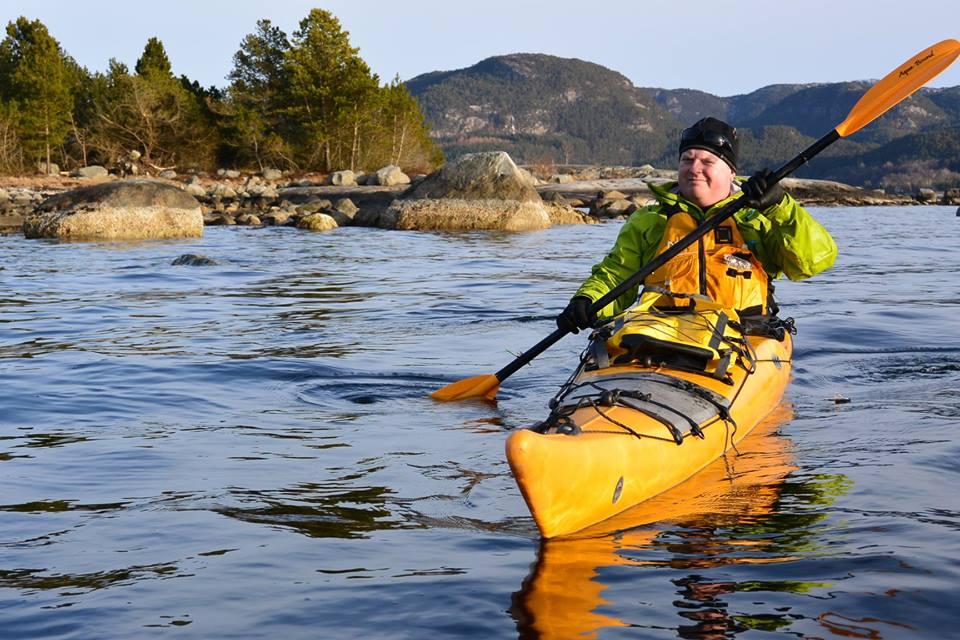 Kayak and fjord taste 1