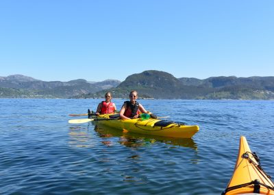 Kayak and fjord taste 5