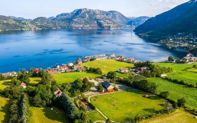 Gastbauernhof des Lysefjords