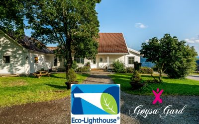 Gøysa Gard received Eco-Lighthouse certification