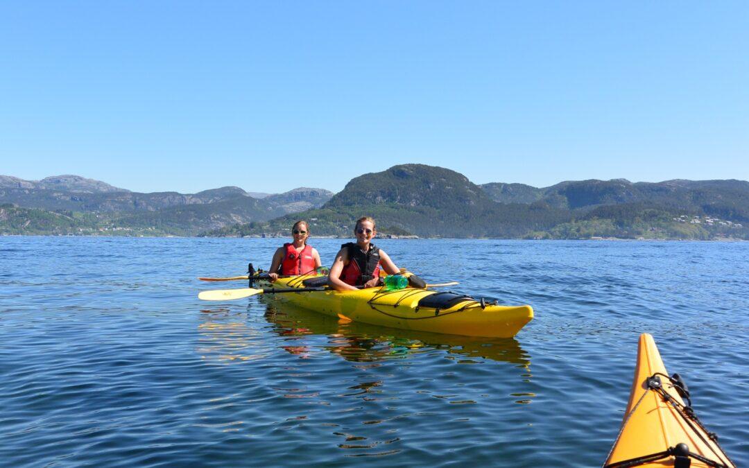 Kayak and fjord taste 5