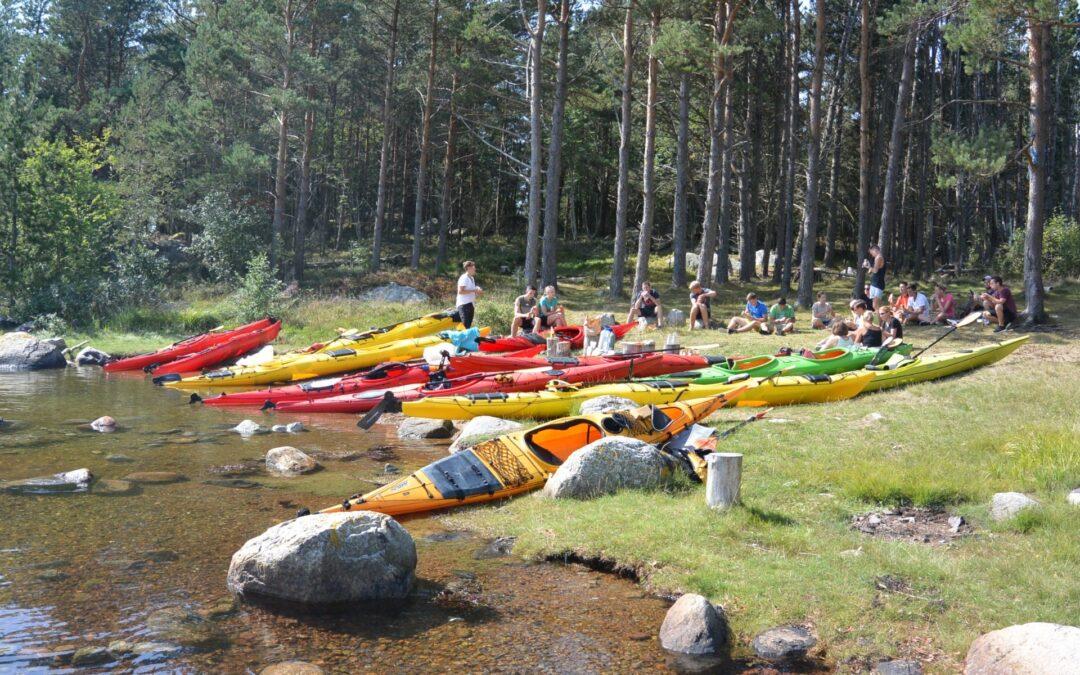 Kayak and fjord taste