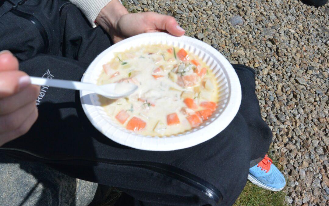 Kayak and fjord taste soup 2