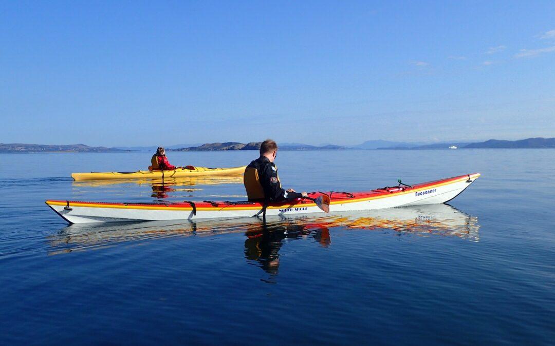 Taste of kayak front